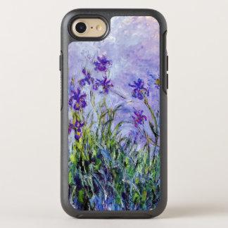 Claude Monet Lilac Irises Vintage Floral Blue OtterBox Symmetry iPhone 8/7 Case