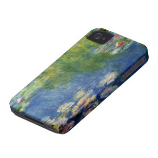 Claude Monet, Lily Pond at Giverny iPhone 4 Covers