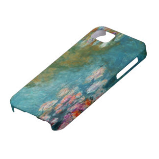Claude Monet, Lily Pond at Giverny iPhone 5 Covers