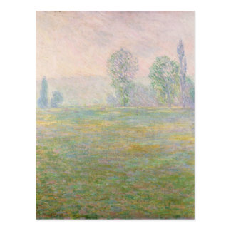 Claude Monet | Meadows in Giverny, 1888 Postcard