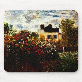 Claude Monet-Monet's Garden at Argenteuil Mouse Pad