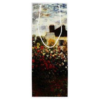 Claude Monet-Monet's Garden at Argenteuil Wine Gift Bag