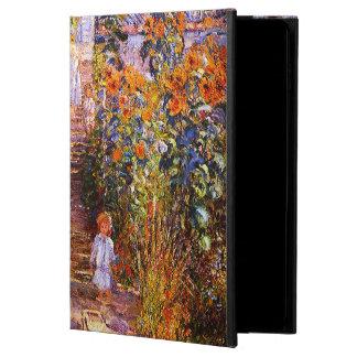 Claude Monet-Monet's Garden at Vétheuil