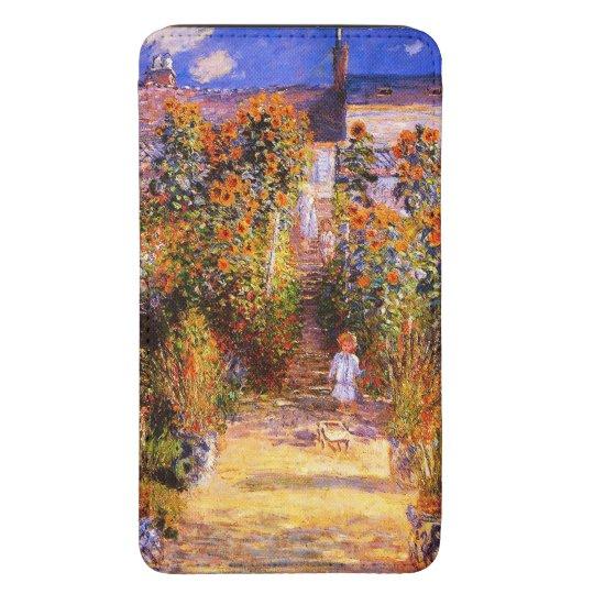 Claude Monet-Monet's Garden at Vétheuil Galaxy S5 Pouch