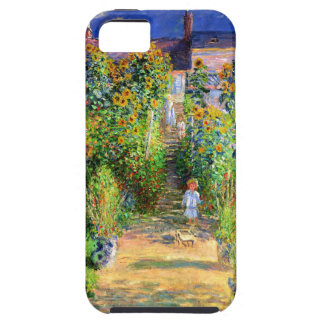 Claude Monet: Monet's Garden at Vétheuil iPhone 5 Cases