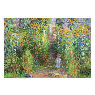 Claude Monet: Monet's Garden at Vétheuil Placemat