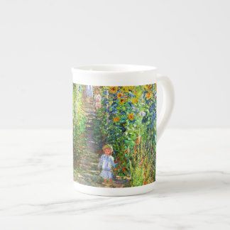 Claude Monet: Monet's Garden at Vétheuil Tea Cup