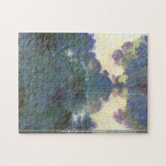 Claude Monet-Morning on the Seine at Giverny puzzl Jigsaw Puzzle