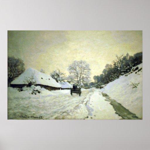 Claude Monet - Orsay-brut Print