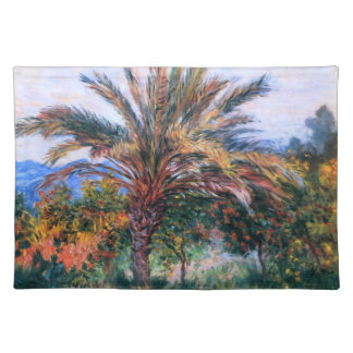 Claude Monet: Palm Tree at Bordighera Placemat