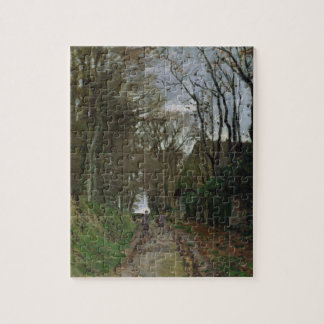 Claude Monet | Path in Normandy Jigsaw Puzzle