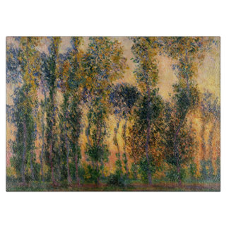 Claude Monet: Poplars at Giverny in Sunrise Boards