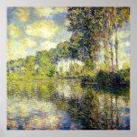 Claude Monet - Poplars on the Epte Poster