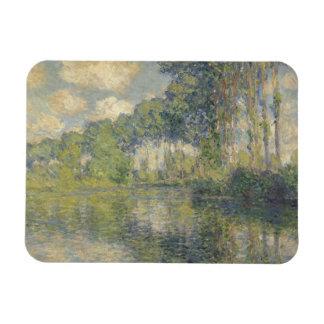 Claude Monet - Poplars on the Epte Rectangular Photo Magnet