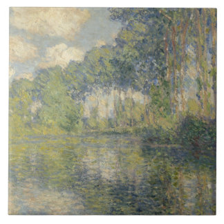 Claude Monet - Poplars on the Epte Tiles