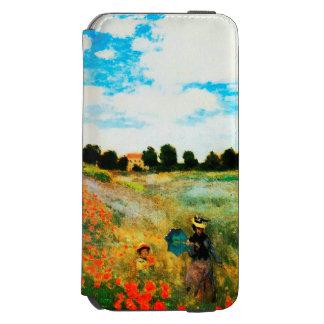 Claude Monet-Poppies at Argenteuil Incipio Watson™ iPhone 6 Wallet Case