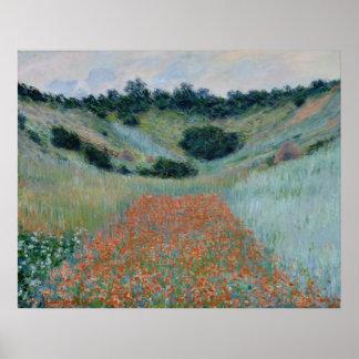 Claude Monet ~ Poppy Field Poster