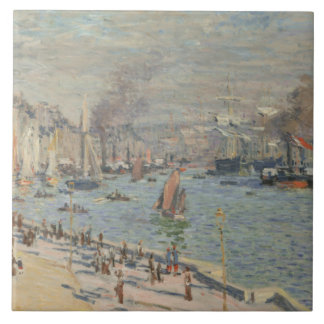 Claude Monet - Port of Le Havre Tile