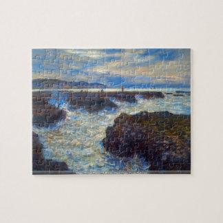 Claude Monet - Pourville puzzle
