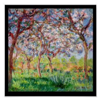 Claude Monet | Printemps a Giverny, 1903 Poster