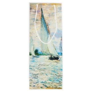 Claude Monet-Regatta at Argenteuil Wine Gift Bag