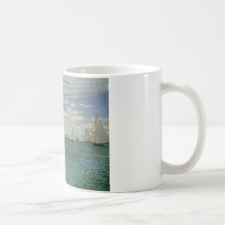 Claude Monet - Regatta at Sainte-Adresse Coffee Mug