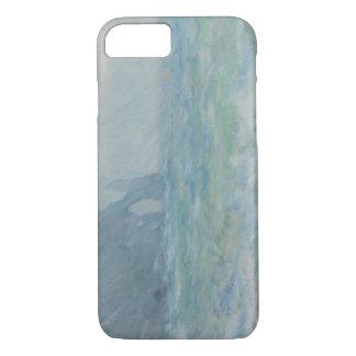 Claude Monet - Regnvaer, Etretat iPhone 7 Case