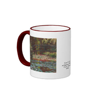 Claude Monet Ringer Coffee Mug