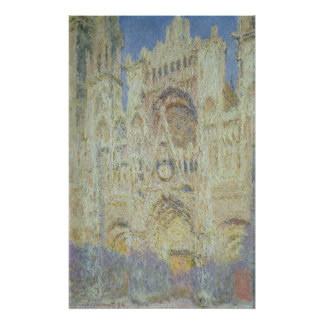 Claude Monet | Rouen Cathedral at Sunset, 1894 Poster