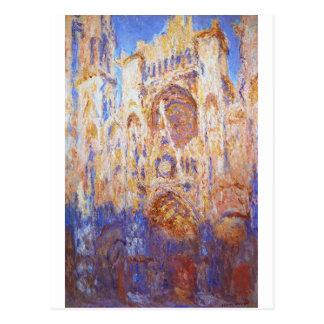 Claude Monet - Rouen Cathedral Postcard