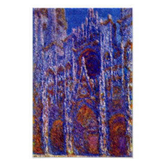 Claude Monet - Rouen Cathedral Poster