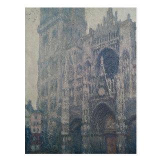 Claude Monet | Rouen Cathedral, West Portal Postcard