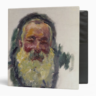 Claude Monet | Self Portrait, 1917 3 Ring Binder