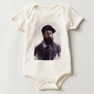 Claude Monet - Self-portrait in Beret Baby Bodysuit