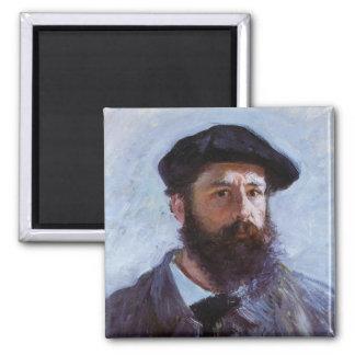 Claude Monet Self-Portrait Magnet