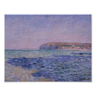 Claude Monet - Shadows on the Sea Poster