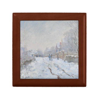 Claude Monet - Snow Scene at Argenteuil Gift Box