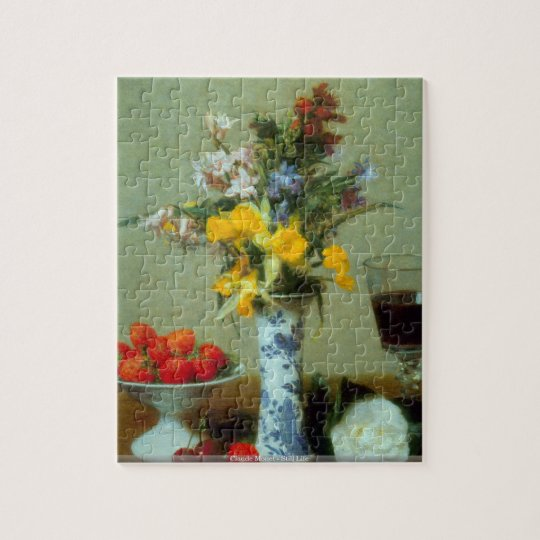 Claude Monet - Still Life puzzle