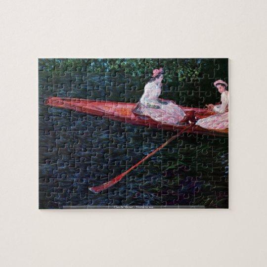 Claude Monet - Storm in sea puzzle