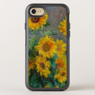 Claude Monet Sunflowers Vintage Floral OtterBox Symmetry iPhone 8/7 Case