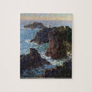 Claude Monet - Sunrise at Sea puzzle