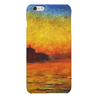 Claude Monet-Sunset in Venice