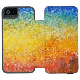 Claude Monet Sunset In Venice Impressionist Art Incipio Watson™ iPhone 5 Wallet Case