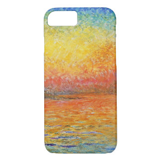 Claude Monet Sunset In Venice Impressionist Art iPhone 8/7 Case