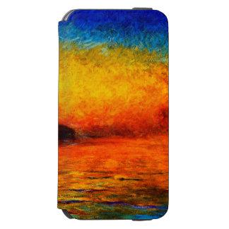 Claude Monet-Sunset in Venice Incipio Watson™ iPhone 6 Wallet Case