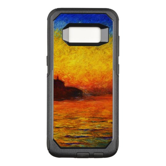 Claude Monet-Sunset in Venice OtterBox Commuter Samsung Galaxy S8 Case