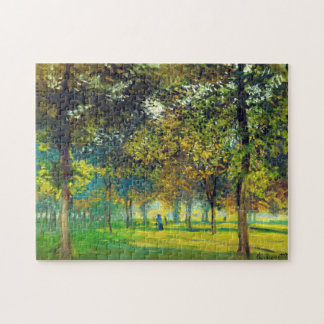 Claude Monet: The Allee Du Champ De Foire Jigsaw Puzzle