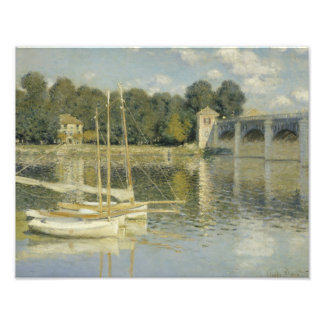 Claude Monet - The Argenteuil Bridge Photo Print