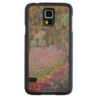 Claude Monet | The Artist's Garden at Giverny Carved Maple Galaxy S5 Case