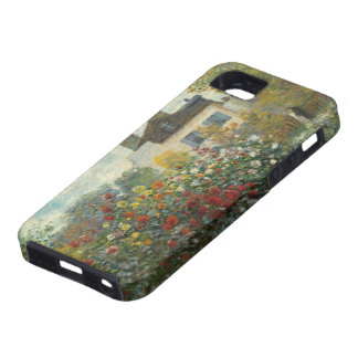 Claude Monet | The Artist's Garden in Argenteuil iPhone 5 Case